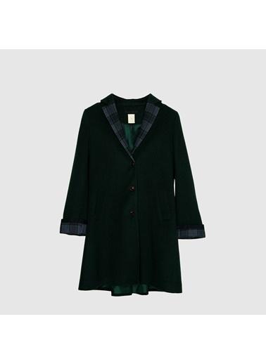 Yargıcı Palto Yeşil